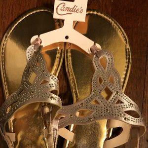 Candies summer pink sandals.